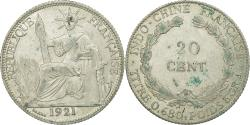 World Coins - Coin, FRENCH INDO-CHINA, 20 Cents, 1921, Paris, , Silver, KM:17.1