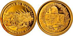 World Coins - France, Medal, Histoire de France, bataille de Marignan 1515, , Gold