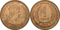 World Coins - Coin, East Caribbean States, Elizabeth II, Cent, 1965, , Bronze, KM:2