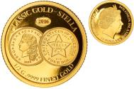 World Coins - Coin, Solomon Islands, Elizabeth II, classic gold stella, 10 Dollars, 2016