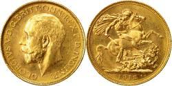 World Coins - Coin, Australia, George V, Sovereign, 1912, Sydney, , Gold, KM:29