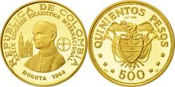 World Coins - Coin, Colombia, 500 Pesos, 1968, , Gold, KM:234