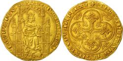 Ancient Coins - Coin, France, Philippe VI, Lion d'or, Undated (1338), AU(55-58),Gold,Duplessy250