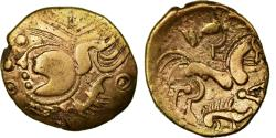 Ancient Coins - Coin, Aulerci Eburovices, Hemistater, , Electrum, Delestrée:2401