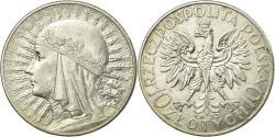 World Coins - Coin, Poland, 10 Zlotych, 1933, Warsaw, , Silver, KM:22