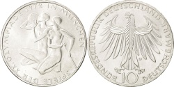 World Coins - GERMANY - FEDERAL REPUBLIC, 10 Mark, 1972, Munich, KM #132, , Silver,...