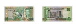 World Coins - Gambia, 10 Dalasis, Undated (2006), KM:26, UNC(65-70)