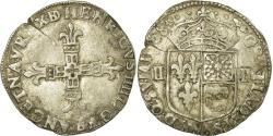 World Coins - Coin, France, Henri IV, 1/4 Ecu de Béarn, 1608, Morlaas, , Silver