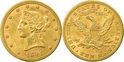 Us Coins - Coin, United States, Coronet Head, $10, Eagle, 1894, Philadelphia,