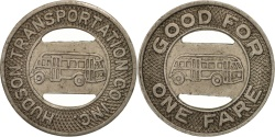 Us Coins - United States, Token, Houston Transportation Company incorporated