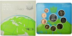 World Coins - San Marino, Set, 2008, Année internationale de la planète Terre