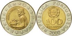 World Coins - Coin, Portugal, 100 Escudos, 2000, , Bi-Metallic, KM:645.1