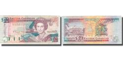 World Coins - Banknote, East Caribbean States, 20 Dollars, Undated (1993), KM:28l, AU(50-53)