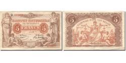 World Coins - Banknote, Belgium, 5 Francs, 1914, 1914-07-01, KM:74a, EF(40-45)