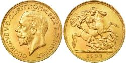 World Coins - Coin, South Africa, George V, Sovereign, 1932, Pretoria, , Gold, KM:A22
