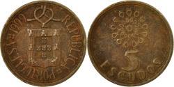 World Coins - Coin, Portugal, 5 Escudos, 1999, , Nickel-brass, KM:632