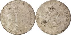 World Coins - Coin, France, Louis XV, Double sol (2 sous) en billon, 2 Sols, 1739, Bourges