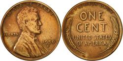 Us Coins - United States, Lincoln Cent, Cent, 1950, U.S. Mint, Denver, , Brass