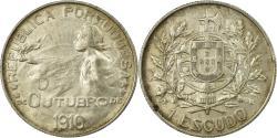 World Coins - Coin, Portugal, Escudo, 1910, , Silver, KM:560
