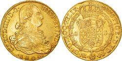 World Coins - Coin, Colombia, Charles IV, 8 Escudos, 1802, Nuevo Reino, , Gold