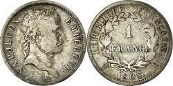 World Coins - Coin, France, Napoléon I, Franc, 1808, Lille, , Silver, KM:682.14