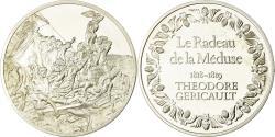 World Coins - France, Medal, Peinture, Le Radeau de la Méduse, Théodore Géricault,