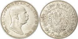 World Coins - Coin, Austria, Franz Joseph I, 5 Corona, 1909, , Silver, KM:2814