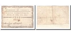 World Coins - France, 5 Sols, Undated (1791-92), TOUGET, EF(40-45)