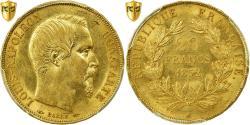 World Coins - Coin, France, Napoleon III, Napoléon III, 20 Francs, 1852, Paris, PCGS, MS62