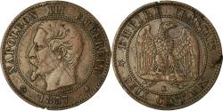 World Coins - Coin, France, Napoleon III, 2 Centimes, 1857, Bordeaux, , KM 776.1