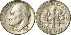Us Coins - Coin, United States, Roosevelt Dime, Dime, 1982, U.S. Mint, Denver,