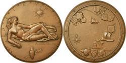 World Coins - France, Medal, Méditerranée, Marcel Renard, , Bronze