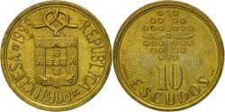 World Coins - Coin, Portugal, 10 Escudos, 1999, , Nickel-brass, KM:633