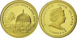 World Coins - Coin, Cook Islands, Elizabeth II, Pape Benoit XVI, Dollar, 2009, CIT, Proof