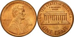 Us Coins - Coin, United States, Lincoln Cent, Cent, 1988, U.S. Mint, Philadelphia