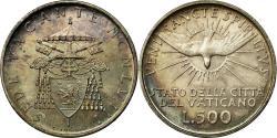 World Coins - Coin, VATICAN CITY, Sede Vacante, 500 Lire, 1958, Roma, , Silver, KM:57