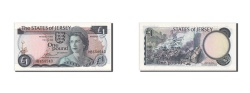 World Coins - Jersey, 1 Pound, KM #11a, UNC(64), HB658540