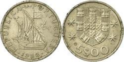 World Coins - Coin, Portugal, 5 Escudos, 1982, , Copper-nickel, KM:591