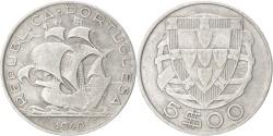World Coins - PORTUGAL, 5 Escudos, 1940, KM #581, , Silver, 28.4, 6.72