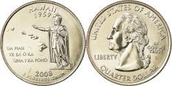 Us Coins - Coin, United States, Hawaii, Quarter, 2008, U.S. Mint, Denver,