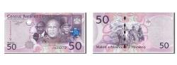 World Coins - Lesotho, 50 Maloti, 2010, KM #23, UNC(65-70), AA036379