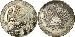 World Coins - Coin, Mexico, 8 Reales, 1895, Culiacan, , Silver, KM:377.3