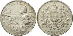 World Coins - Portugal, Escudo, 1910, , Silver, KM:560