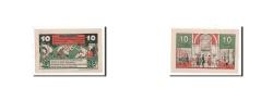 World Coins - Germany, Harburg, 10 Pfennig, personnage, 1921, Undated, UNC(65-70), Mehl:581.1a