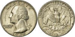 Us Coins - Coin, United States, Washington Quarter, Quarter, 1969, U.S. Mint, Denver