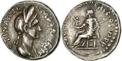 Ancient Coins - Coin, Plotina, Denarius, Rome, Very rare, , Silver, RIC:730