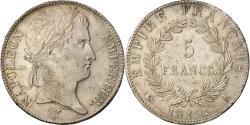 World Coins - Coin, France, Napoléon I, 5 Francs, 1815, Limoges, Fautée, , Silver