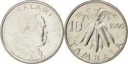 World Coins - MALAWI, 10 Tambala, 1995, KM #27, , Nickel Plated Steel, 23.6, 5.63