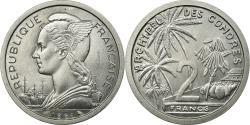 World Coins - Coin, Comoros, 2 Francs, 1964, Paris, ESSAI, , Aluminum, KM:E2