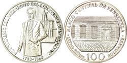 World Coins - Coin, Venezuela, 100 Bolivares, 1983, Werdohl, Vereinigte Deutsche Metallwerke